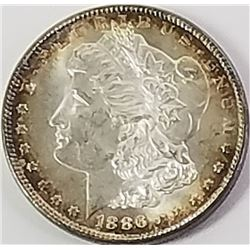 Morgan Silver Dollar 1886.