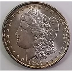 Morgan Silver Dollar 1888.