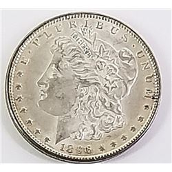 Morgan Silver Dollar 1896.