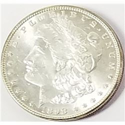 Morgan Silver Dollar 1898.
