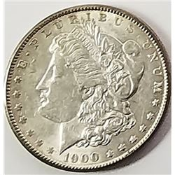 Morgan Silver Dollar 1900.