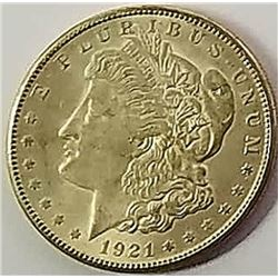 Morgan Silver Dollar 1921 S