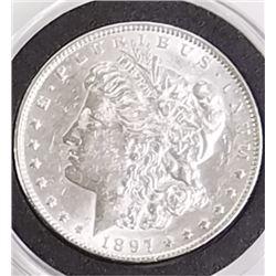 Morgan Silver Dollar 1897