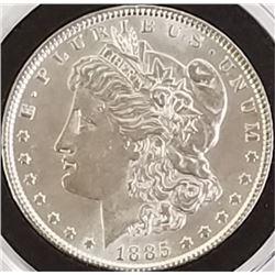 Morgan Silver Dollar 1885.