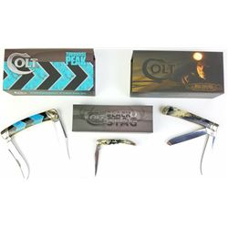 Collection of 3 Colt Pocket knives
