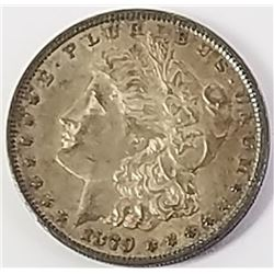 Morgan Silver Dollar 1879.