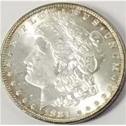 Morgan Silver Dollar 1881.