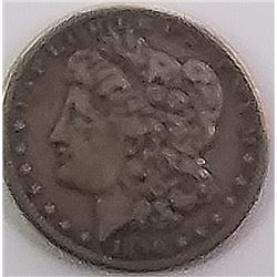 Morgan Silver Dollar 1890 S