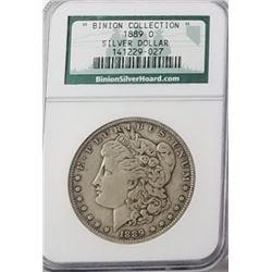 Morgan Silver Dollar 1889 O.
