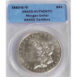 Morgan Silver Dollar 1882 O