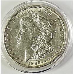 Morgan Silver Dollar 1889