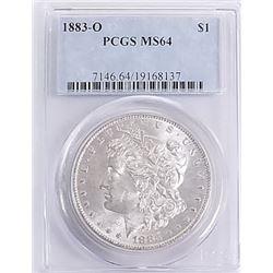 Morgan Silver Dollar 1883 O MS 64