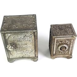 Collection of 2 Safe Banks includes