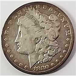 Morgan Silver Dollar 1880 O