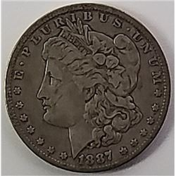 Morgan Silver Dollar 1887 O