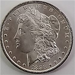 Morgan Silver Dollar 1883 CC