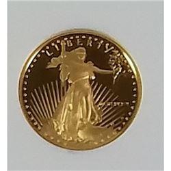 1989 P Gold Eagle 5$ PF70 Ultra Cameo