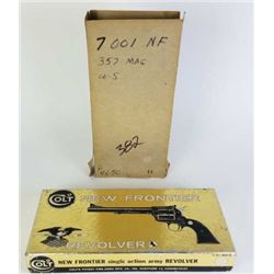 Colt New Frontier flat top revolver box