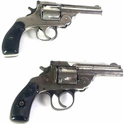 Collection of 2 top break 22 cal revolvers