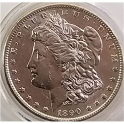 Morgan Silver Dollar 1890 S