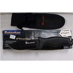 "9"" BOLEEFUN Hunting Knives"