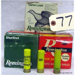 BOX LOT 20GA AMMUNITION