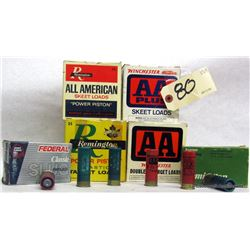 BOX LOT 12GA AMMUNITION
