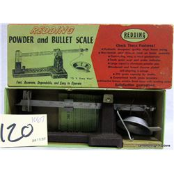 POWDER AND BULLET SCALE