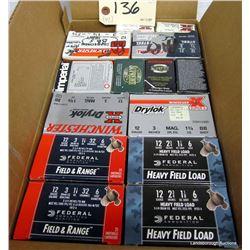 BOX LOT 12GA AMMUNITION