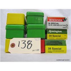 BOX LOT 38 SPL AMMUNITION