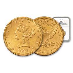 1894 MS 62 NGC $ 10 Gold Liberty Eagle