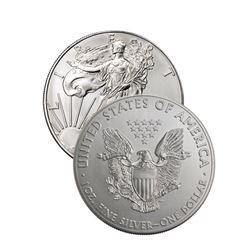 Random Date US Silver Eagle 1 oz.