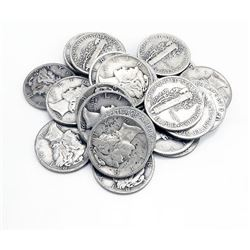 (20) Mercury Dimes - 90% Silver