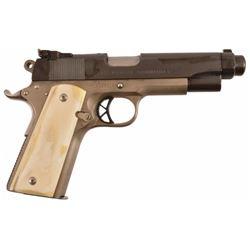 Texas Ranger Jack Dean's Custom Colt 1911 ,45