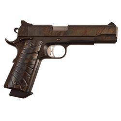 Texas Ranger Jack Dean's Custom Colt 1911 .45