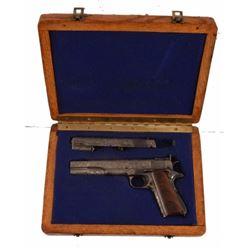 Engraved Custom Springfield Armory 1911 .45 Pistol
