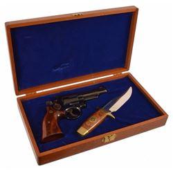Texas Ranger 150th S&W Model 19-3 .357 & Knife