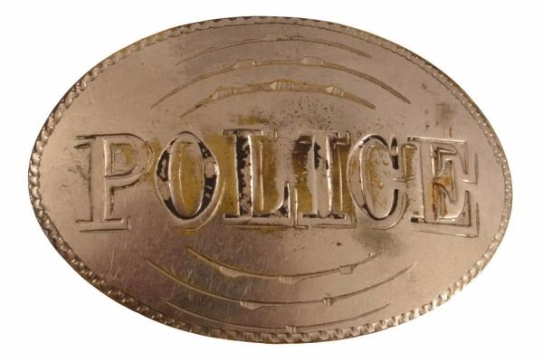 Early 1900s Police Badge