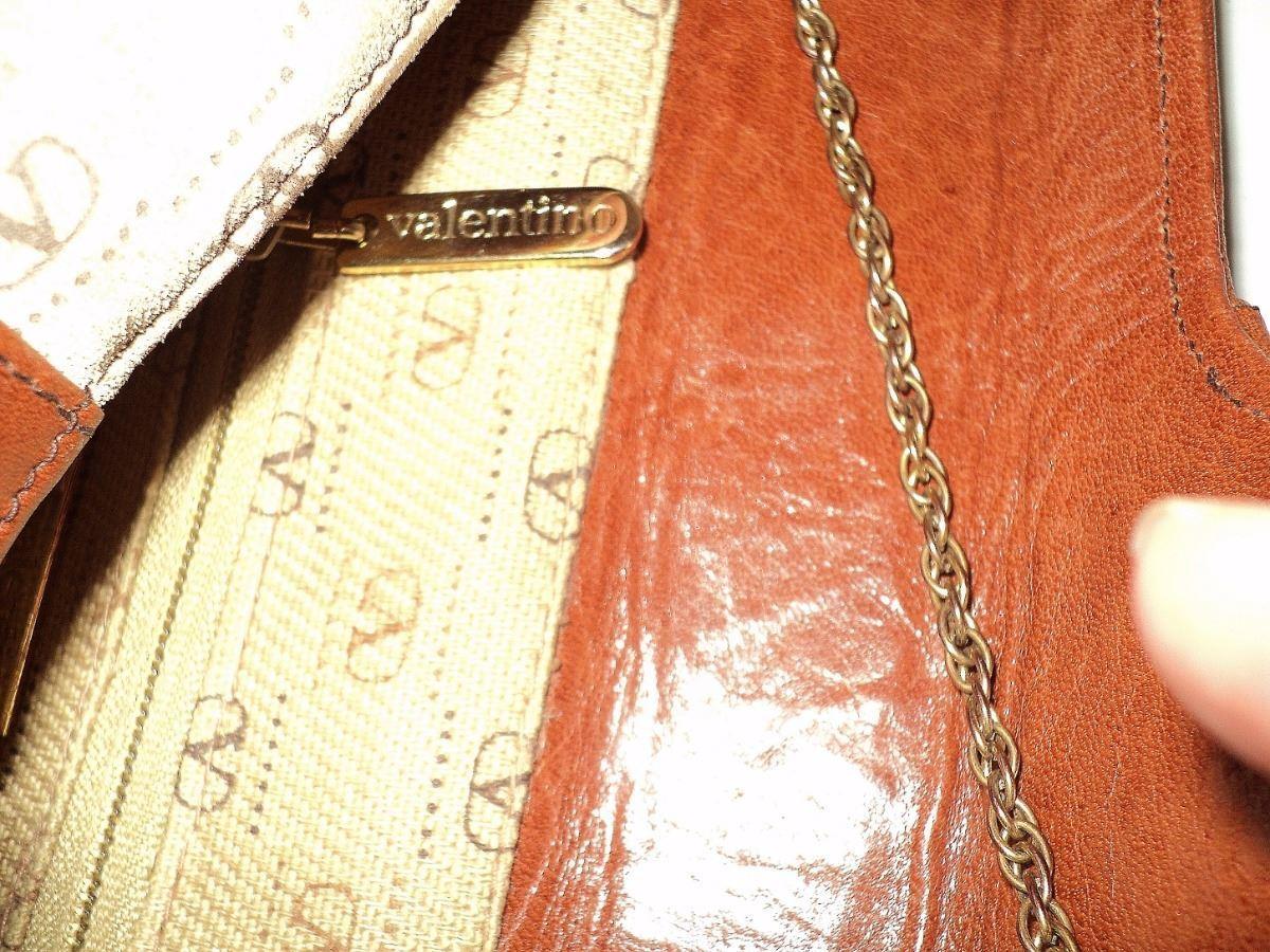9d3515159f88 ... Image 4 : Valentino 1970 Monogram Leather/Suede Handbag Chain ...