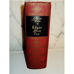 Hardcover Collected works of Edgar Allan Poe 1927 in one volume Complete Tales and Poems