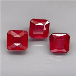 Natural African Ruby 6x6 MM - 4.76 Ct