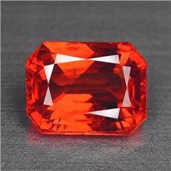 Natural Vivid Orange Sapphire 2.00 Carats - VVS