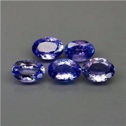 Natural Top Purplish Blue Tanzanite 3.48 Cts