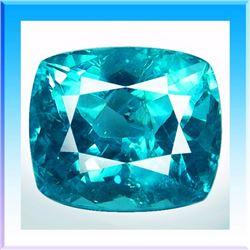 Natural Neon Green Blue Apatite 3.05 Carats - VS