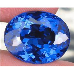 Natural London Blue Topaz 16.49 carats- Flawless