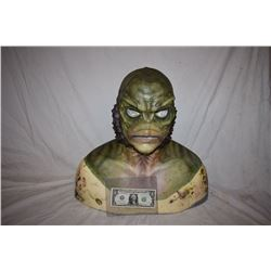 CREATURE FROM THE BLACK LAGOON LIKE THE QUEST RANA SCREEN USED SILICONE MASK 03