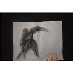 IRON MAN ORIGINAL STUDIO HAND DRAWN CONCEPT ART 1