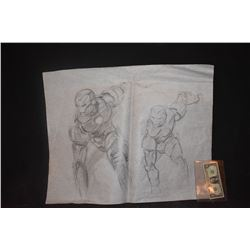 IRON MAN ORIGINAL STUDIO HAND DRAWN CONCEPT ART 5