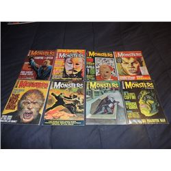 Z-CLEARANCE FAMOUS MONSTERS OF FILMLAND 40 - 49 LOT OF 8