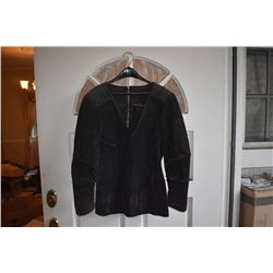BATTLESTAR GALACTICA SCREEN WORN LEATHER SUEDE JACKET